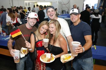 Oktoberfest by the Bay - Beer Festival in San Francisco.