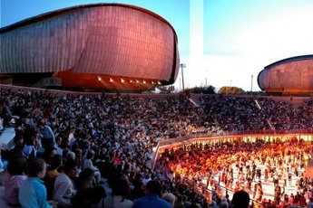 Parco della Musica Auditorium  - Concert Venue | Theater in Rome.