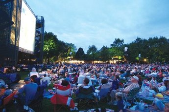 Ravinia Festival: Lawn (Highland Park) - Event Space | Park in Chicago.