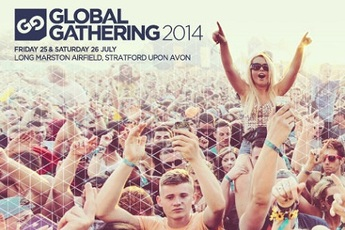 Global Gathering 2014 - Music Festival in London.