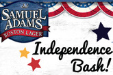 Samuel Adams Independence Bash - Holiday Event | DJ Event in Boston.