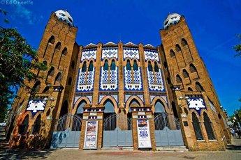 Plaza De Toros Monumental De Barcelona - Bullring in Barcelona.