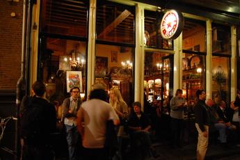In 't Aepjen - Historic Bar in Amsterdam.