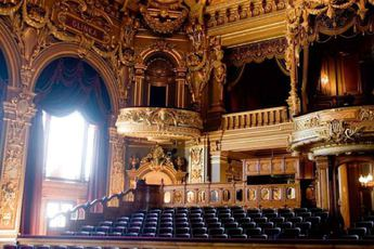 Opera de Monte-Carlo - Theater in French Riviera.