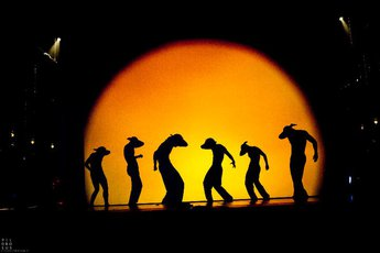 Shadow Land - Dance Performance in Munich.