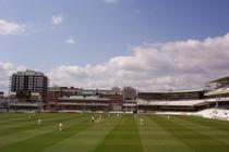 Lord's Cricket Ground - Stadium in London.