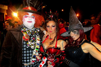 see all 9 photos - Halloween Parties In Hollywood