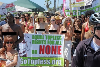 Go Topless Day Venice Beach - Special Event in Los Angeles.