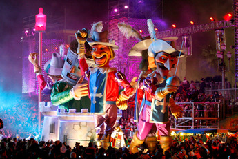 Carnaval de Nice in the French Riviera