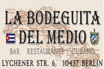 La Bodeguita del Medio - Cuban Bar | Cuban Restaurant in Berlin.