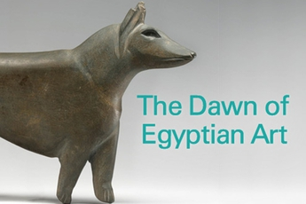 The Dawn of Egyptian Art - Art Exhibit in New York.