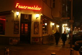 Feuermelder - Bar in Berlin.