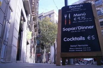 Marmalade brunch menu