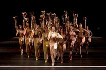 A Chorus Line - Musical in London.
