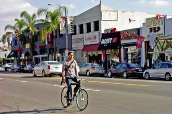 Melrose in Los Angeles, CA