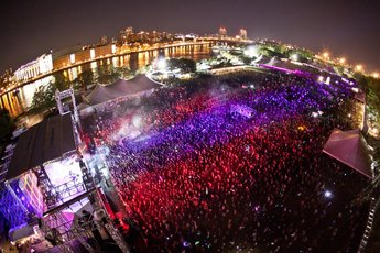 Electric Zoo in New York.