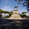 Piazza Garibaldi - Square in Rome.