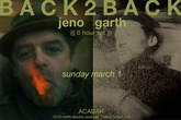 BACK-2-BACK :: JENO :: GARTH - Party | DJ Event in Los Angeles.