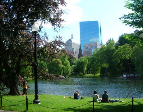 Back Bay, Boston.
