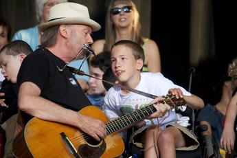 Bridge School Benefit - Concert   Benefit / Charity Event in San Francisco.