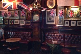 The Cross Keys - Pub in London.