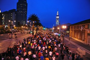 San Francisco Marathon - Running in San Francisco.