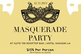 New Year's Masquerade Party at Hotel Shangri-La - Party   Holiday Event in Los Angeles.