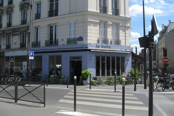 La Bulle - Café | Restaurant in Paris.