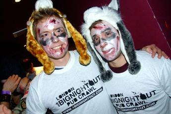 1 Big Night Out Halloween Pub Crawl - Pub Crawl | Costume Party | Holiday Event in London.