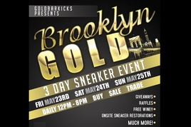 Brooklyn Gold 3 Day Sneaker Expo S268x178