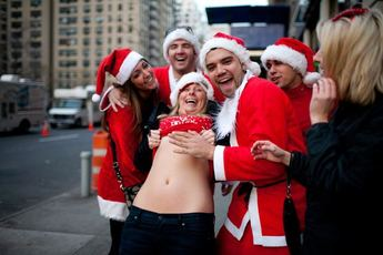 SantaCon: New York 2014 | Dec 13, 2014 | Christmas Parade | Party ...