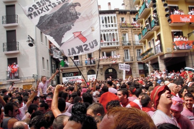 Photo of Pamplona: The Running of the Bulls