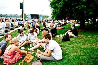 Hudson River Park Blues BBQ - Food Festival | Music Festival in New York.