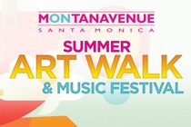 Montana Avenue Summer Art Walk & Music Festival - Arts Festival | Music Festival | Shopping Event in Los Angeles.