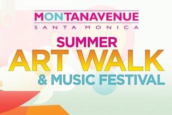 Montana Avenue Summer Art Walk & Music Festival - Arts Festival | Music Festival | Shopping Event in Los Angeles.