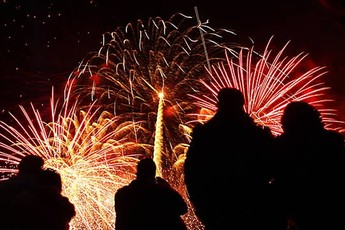 New Year's Eve Fireworks Display - Holiday Event   Special Event in London.