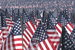 Memorial Day Flag Garden on Boston Common - Holiday Event in Boston.