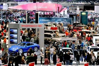 Chicago Auto Show First Look For Charity Feb Party Earth - Mccormick place car show