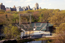 The Delacorte Theater - Theater in New York.