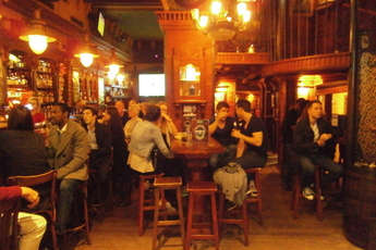 The Temple Bar - Irish Pub in Barcelona.