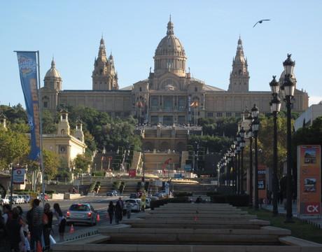 Montjuic, Barcelona.