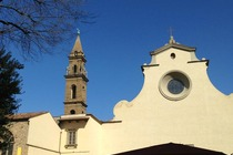 Basilica of Santa Maria del Santo Spirito - Landmark in Florence.