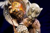 The Lion King - Musical in London.