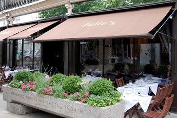 Julie's Restaurant & Bar - Bar | Restaurant | Wine Bar in London.