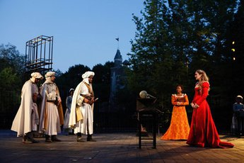 Shakespeare in the Park - Play in New York.