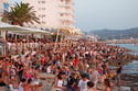 Sunset Strip: Café del Mar, Café Mambo, Savannah Beach Club