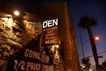The Den of Hollywood - Bar | Restaurant in Los Angeles.