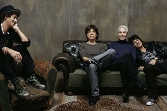 The Rolling Stones: 50 - Photography Exhibit in London.