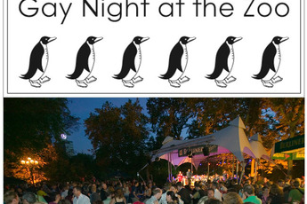 Gay Night at the Zoo - Party in Berlin.