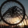 Burning Man in Black Rock Desert